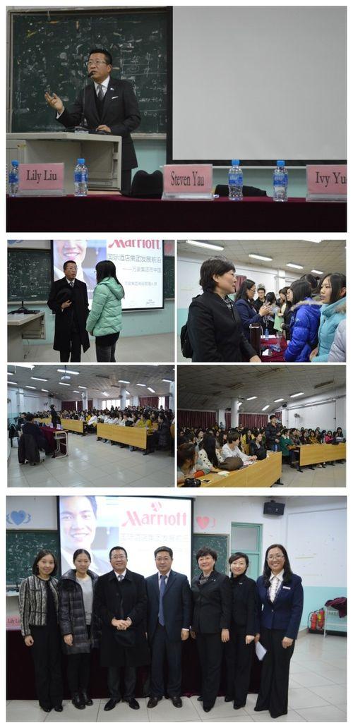 Tianjin Cluster Visiting Tianjin Foreign Language Studies University