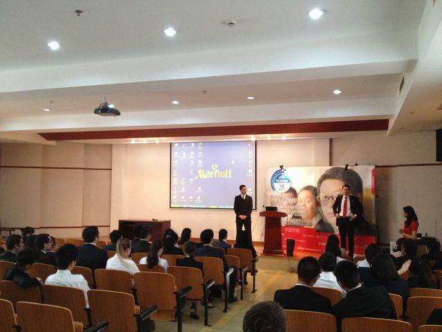 Shanghai GMs visiting Les Roches Shanghai_5