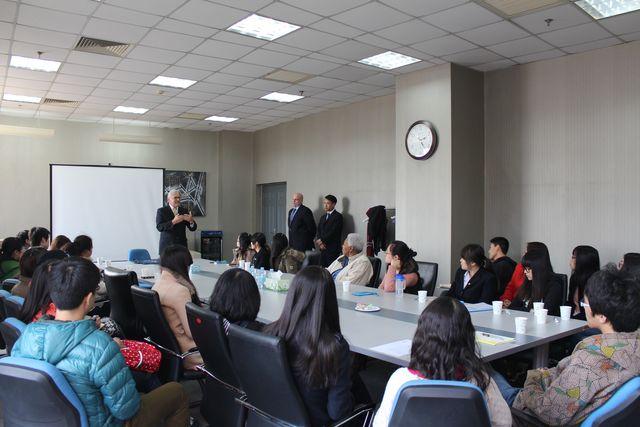 Michel Goget Visiting FIU Tianjin 1
