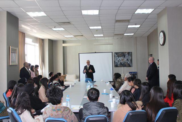 Michel Goget Visiting FIU Tianjin 2
