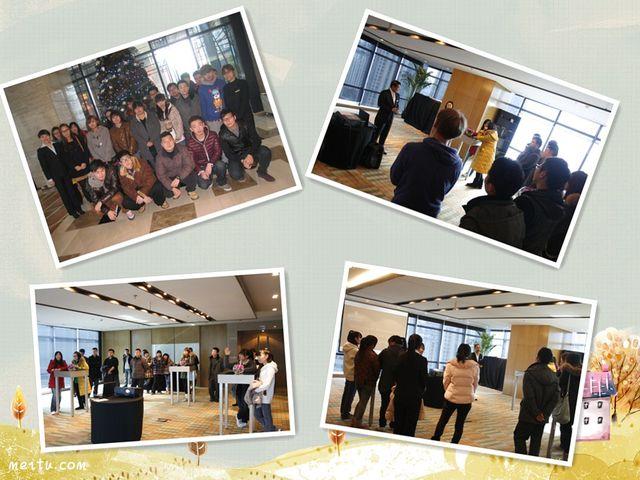 Shanghai Tourism Institute Marriott Class students visiting Renaissance Zhongshan Park