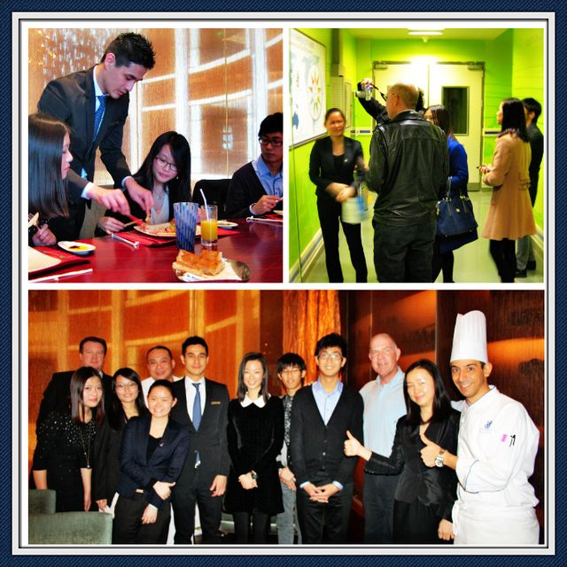 The Ritz-Carlton Shenzhen meeting with UIC students