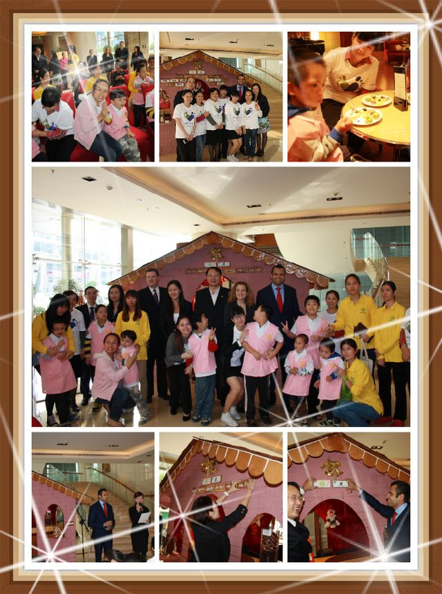 Ritz Carlton Shenzhen Charity Event at Christmas