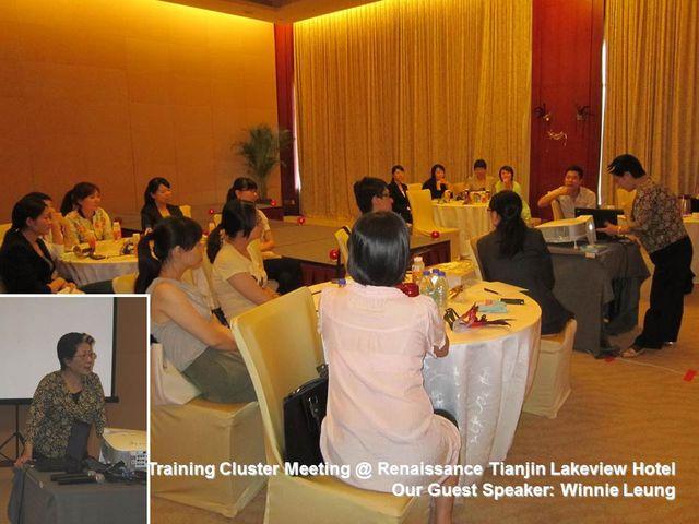 Beijing & Tianjin Cluster Meeting