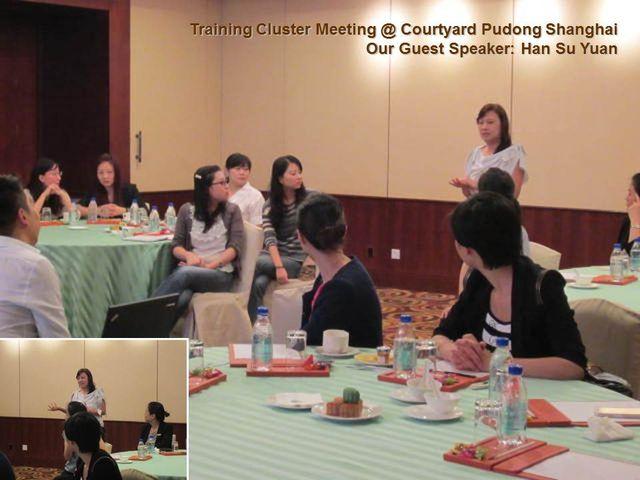 Shanghai & Suzhou Cluster Meeting